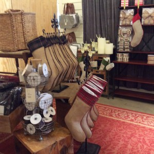 Love The Burlap Christmas Stockings Ballard Designs Tybee Joy