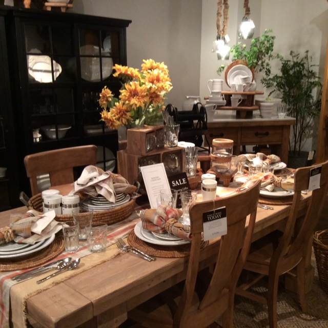 Tybee Joy Vacationspottery Barn Tablescapes Are The Best