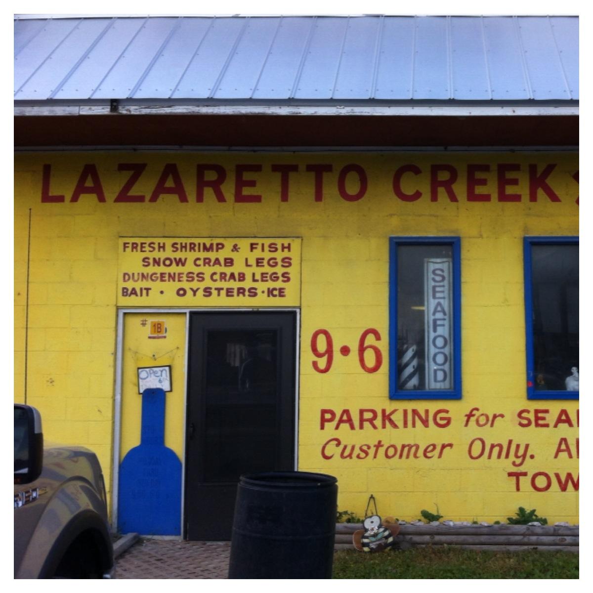 Tybee joy vacationslazaretto creek archives tybee joy for Captain mike s fresh fish seafood